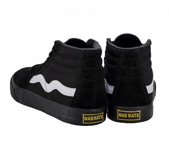 Tênis Mad Rats Hi Top - Black/Preto