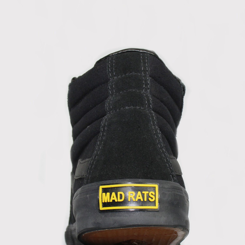 Tênis Mad Rats Hi Top - Black/Preto Total