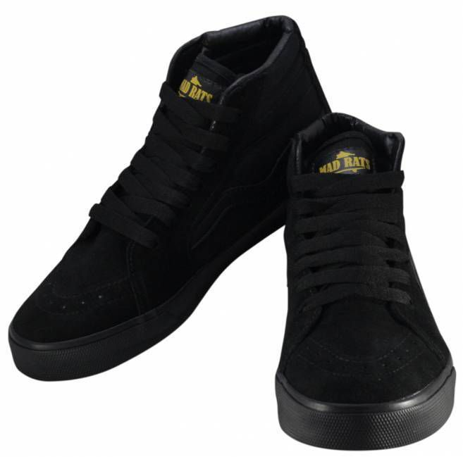 Tênis Mad Rats Hi Top - Black/Preto Total
