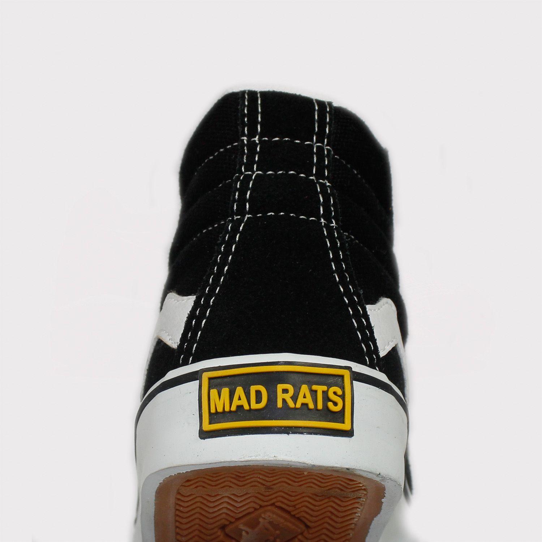Tênis Mad Rats Hi Top Preto Infantil