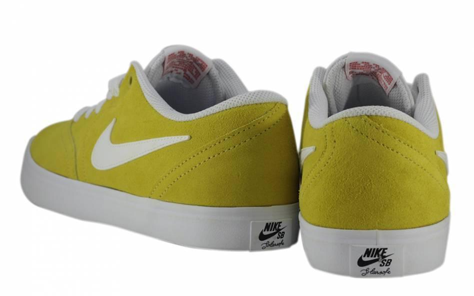 Tênis Nike SB Check Solar Cnvs Amarelo/Branco