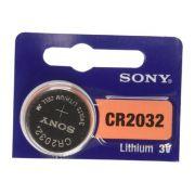 Bateria eletronica litio CR2032 - 3 volts