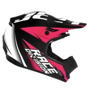 Capacete Motocross TH1 Jett Factory Edition Neon