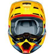 Capacete trilha motocross enduro V1 MVRS Motif - FOX