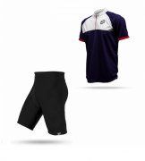 Kit Bermuda + Camisa Bike ASW Lazer 18