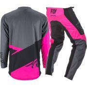 Kit Calça + Camisa FLY F-16 19 - Pink