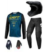 Kit Equipamento Shift Muse 2019 Motocross Trilha