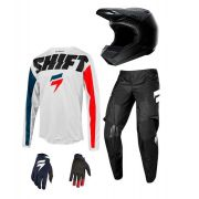 Kit Equipamento Shift York 2019 Motocross Trilha