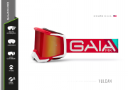 Óculos GAIA MX Pró Red Vulcon