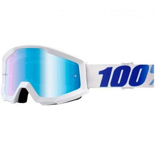 Óculos 100% Strata Equinox Lente Espelhada