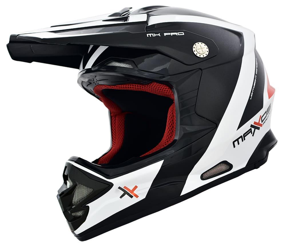 Capacete para trilha motocross enduro MX Pro 19 - Mattos Racing
