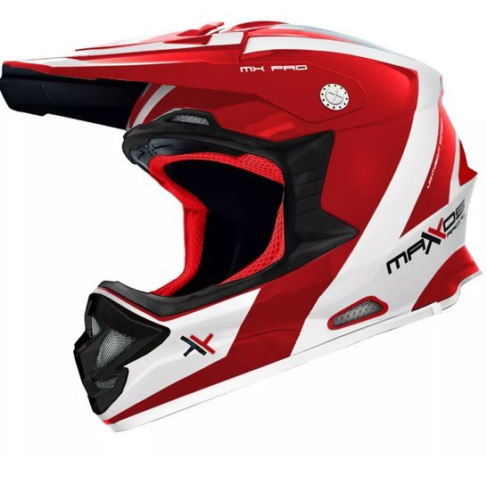 Capacete para trilha motocross MX Pro 19 - Mattos Racing