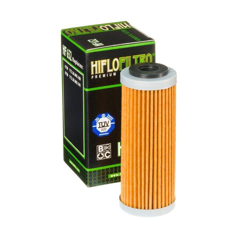 Filtro de Óleo Hiflo HF652 Ktm Sxf Xcf Xcfw Exc 250 350 450