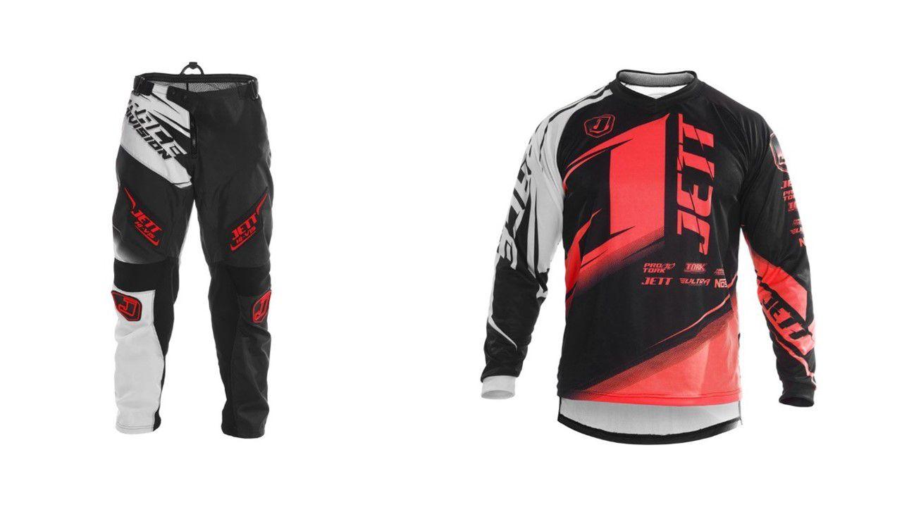 Kit Calça + Camisa Motocross Pro Tork Jett Factory Edition Neon