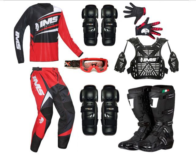 Kit Roupa Equipamento Trilha Motocross Completo Flex