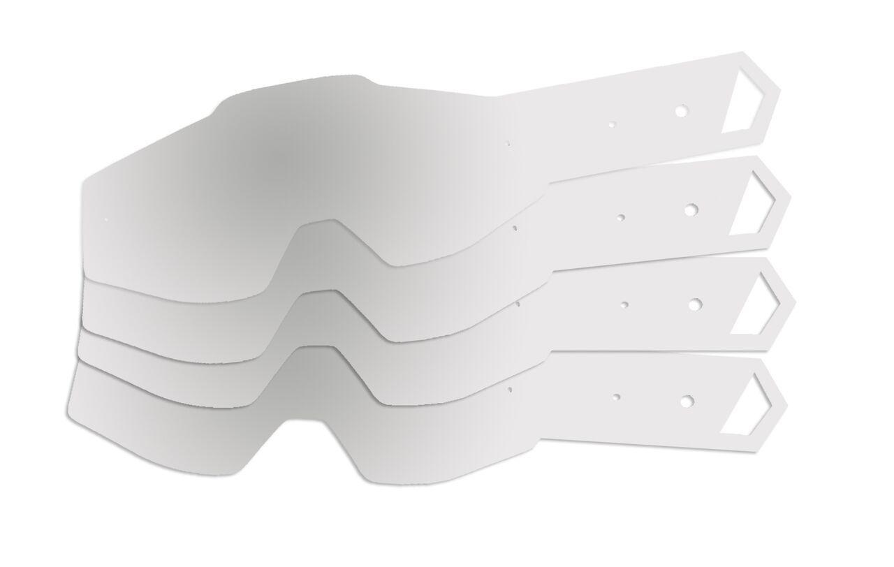 Kit Tear Off Mattos Racing para Óculos 100%