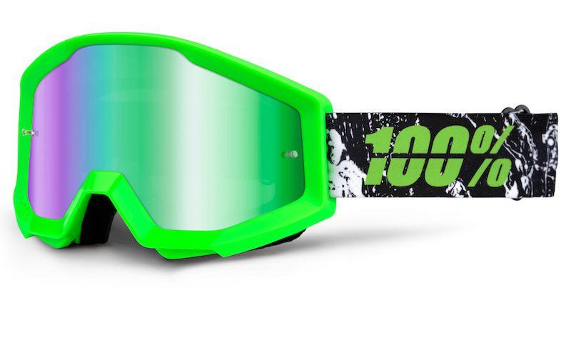 Óculos 100% Strata Espelhado Crafty Lime
