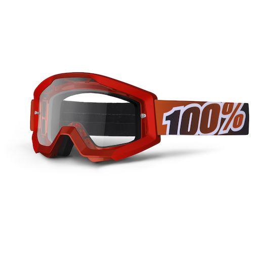 Óculos 100% Strata Fire Red