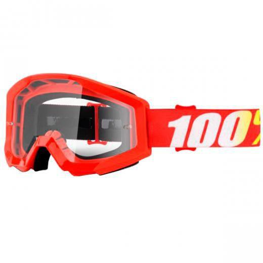 Óculos 100% Strata Furnace Lente Transparente
