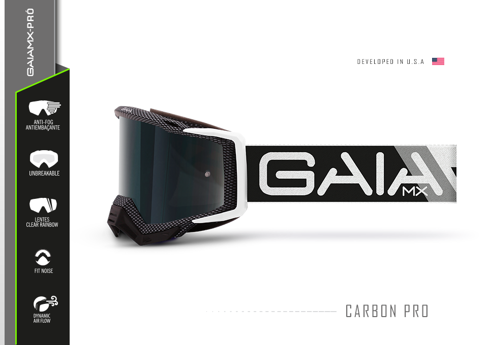 Óculos GAIA MX Carbon
