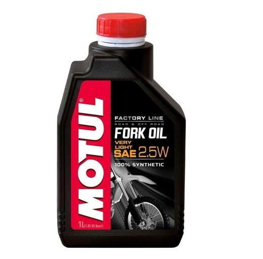 Óleo Suspensão Motul Fork Oil Factory Line Very Light 2,5W - 1 Litro