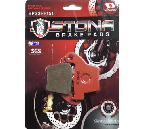 Pastilha de Freio Traseira Stona R151 Honda CR EF 250/450 Sinterizada