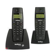 Telefone s/ Fio Dect TS40C Base +Ramal com identificador de chamadas - Intelbrás