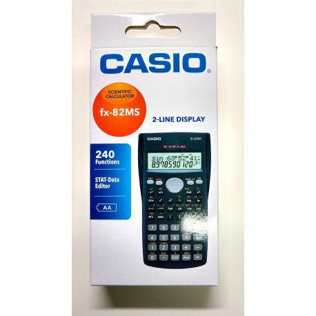 Calculadora científica Casio cinza FX-82MS