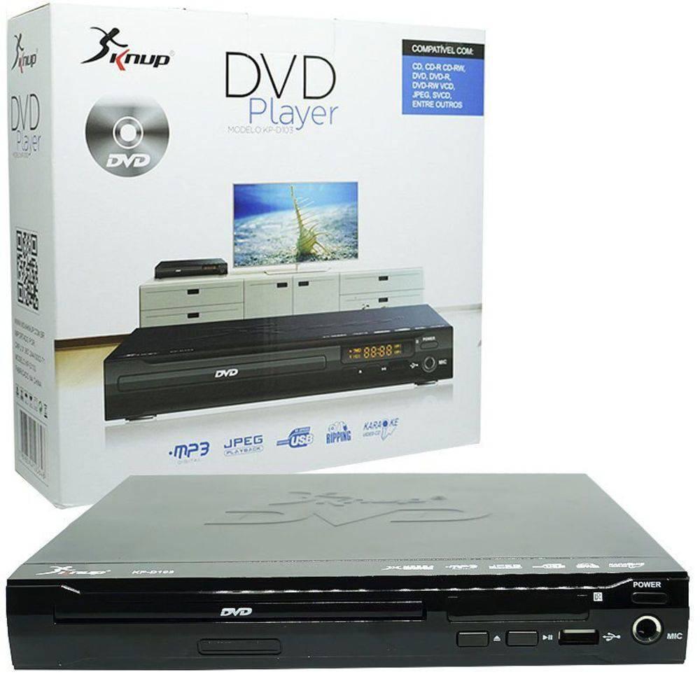 DVD Player Knup KP-D103