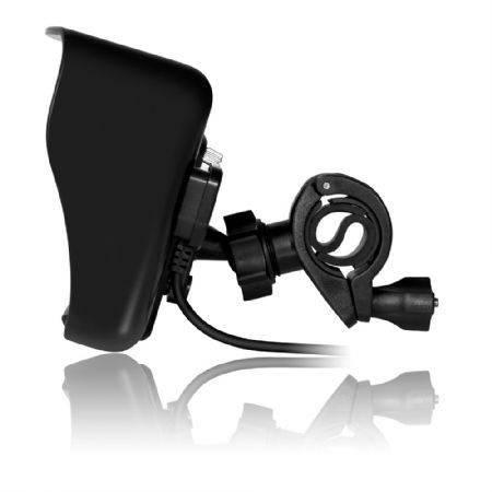 Gps para moto Multilaser  Gp040 Tracker Tela 4.3 Polegadas Preto