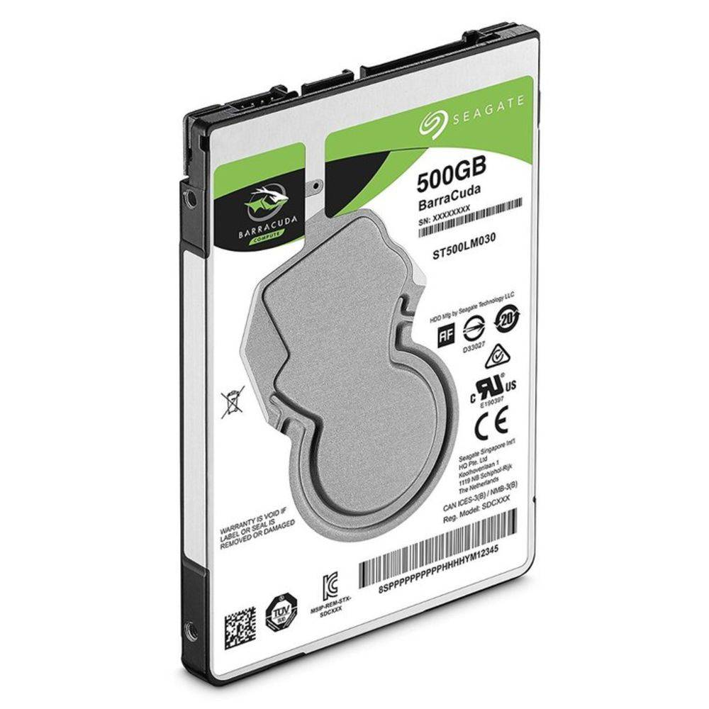 HD Seagate interno 500GB para notebook