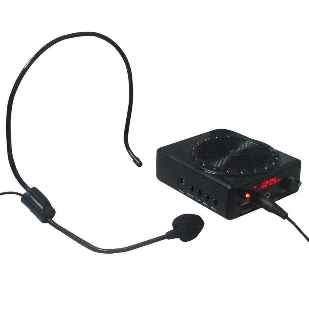 Kit Professor Megaphone C/ Microfone (Preto)