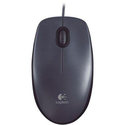 Mouse Logitech com fio M90 Preto 1000DPI