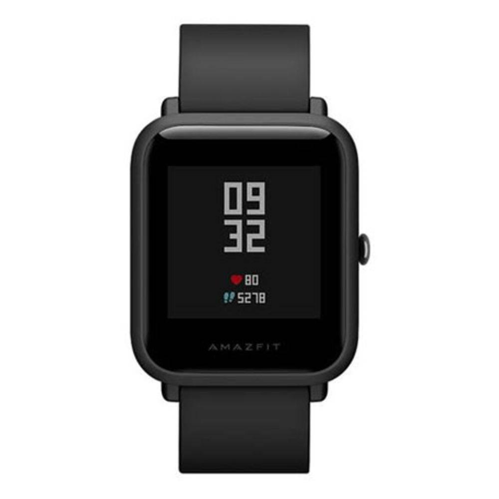 Relógio Amazfit Bip smartwatch Mi para aparelhos android e Ios - Preto