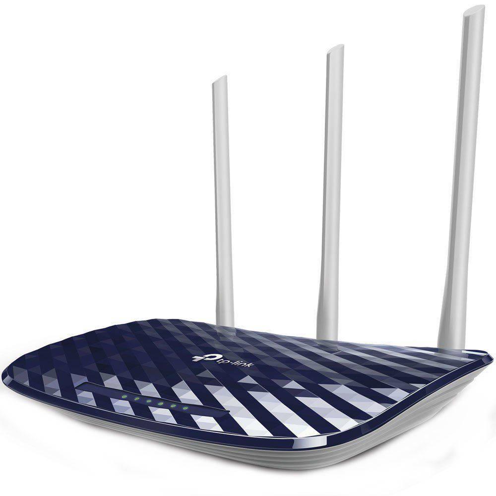 Roteador wireless 4 portas Dual Band AC750 Tp link modelo: C20