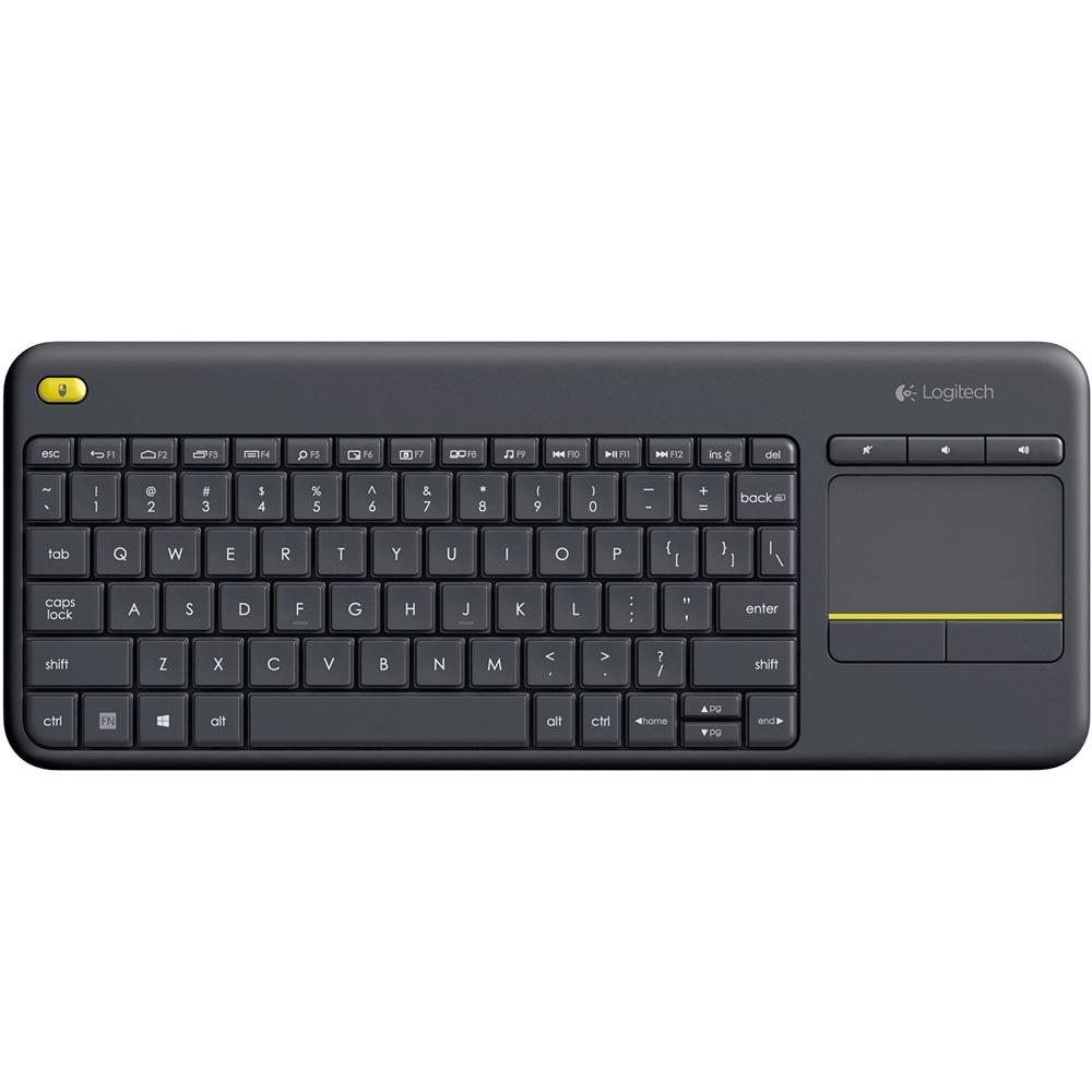 Teclado Wireless Touch Keyboard K400 Plus TV - Logitech