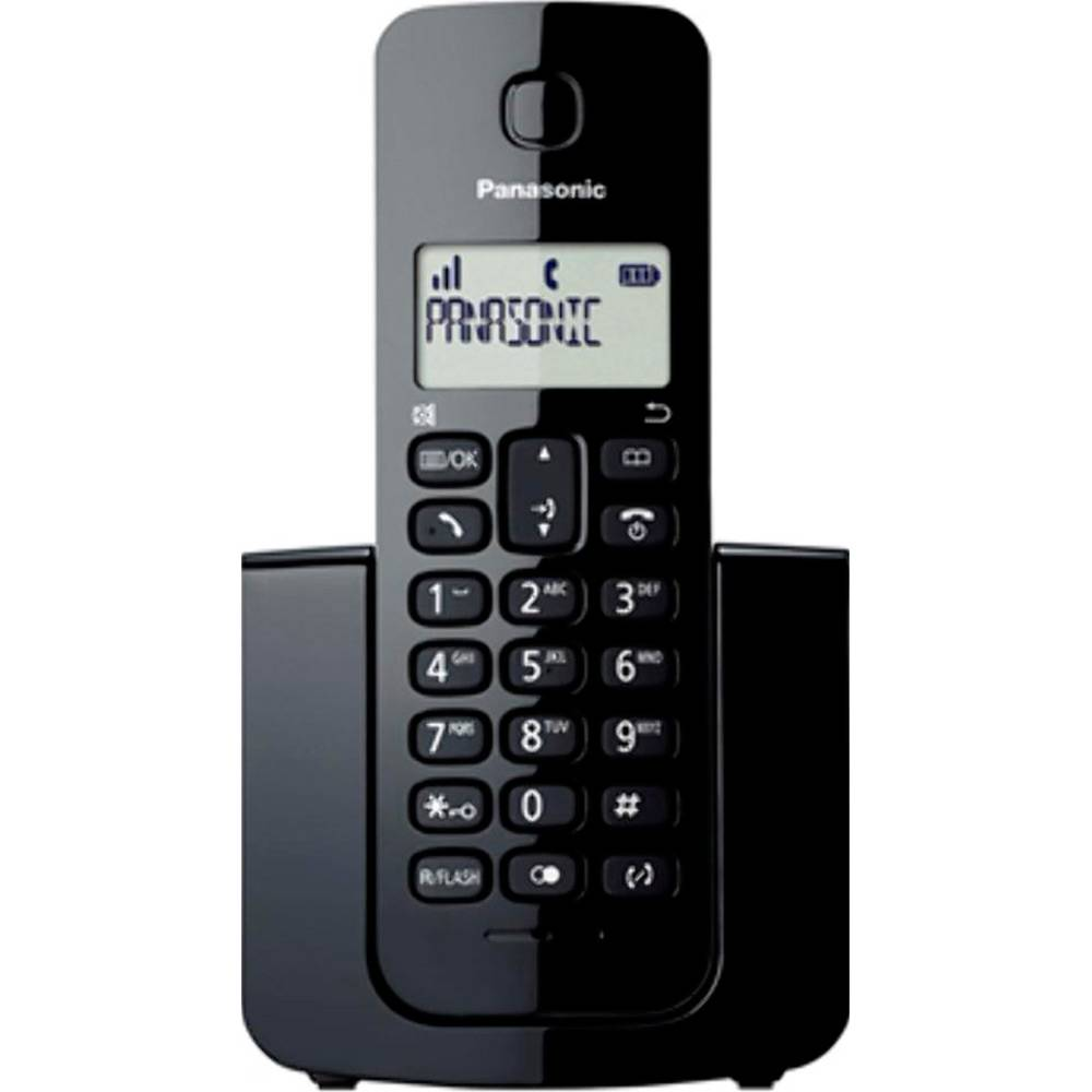 Telefone s/ fio Dect 6.0 c/ identificador de chamadas KXTGB110LBB Panasonic
