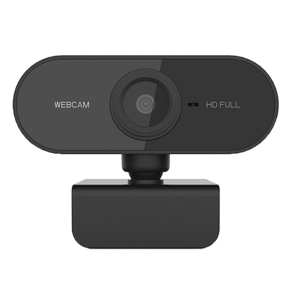 Webcam FullHD 1080P - Microfone e Redução de Ruído Desktop PC Plug & Play- 360 graus