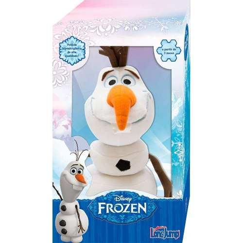 Olaf Velcro Desmontável Long Jump Original Na Caixa Frozen