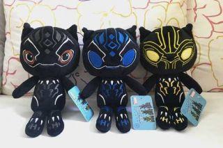 Pantera Negra De Pelúcia Brinquedo Meninos Vingadores
