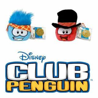 Coleção Completa Disney Club Penguin Com Moeda Novo Original