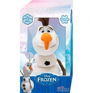Pelúcia Olaf Desmontável brinquedo Frozen Long Jump