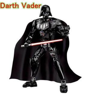 Star Wars Lego Blocos De Montar Boneco Darth Vader 25 Cm