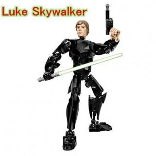 Boneco Star Wars 25 Cm Luke Skywalker Jedi Sabre De Luz