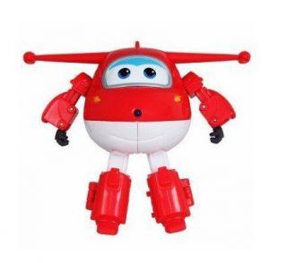 Aviãozinho De Brinquedo Vermelho Jett Superwings
