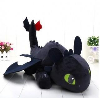 Pelúcia Como Treinar Seu Dragão Brinquedo Disney Banguela Fúria da Noite