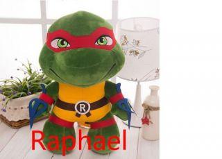 Tartaruga Ninja Raphael Pelúcia Rapha