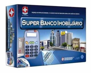Super Banco Imobiliário Com Máquina De Cartão 100% Original
