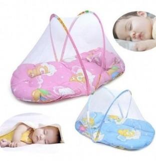Mosquiteiro Portátil Para Bebês Cama Infantil Recém Nascido