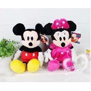 Pelúcias Mickey E Minnie Disney Brinquedos